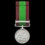 Afghanistan Medal 1878-1880, 1 Clasp: Ali Musjid awarded to Private John Kielly, 1st Battalion, 1...