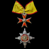 Germany - Imperial - Mecklenburg-Schwerin: Order of Griffin, 2nd Class, Grand Commander's set of ...