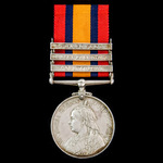 Pienaar's Drift June 1901 Casualty and subsequent death from wounds Queen's South Africa Medal 18...