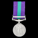 General Service Medal 1918-1962, EIIR, Dei.Grat bust, 1 Clasp: Malaya awarded to Private A. Steve...