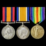South Africa Boer War Prisoner of War Guard on Saint Helena and Great War group awarded to Privat...