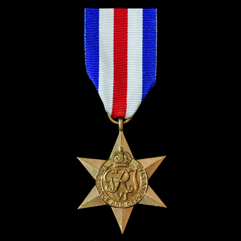 France and Germany Star.   London Medal Company