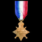 1914-1915 Star awarded to Corporal F.J. Cave, 'D' Company, 21st (Service) Battalion, (6th City Pa...