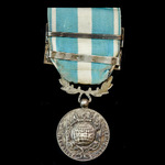 France - Colonial Medal, Second Official Type, 1914-62, 26mm, two clasps 'Afrique Occidentale' an...