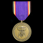   Belgium: National Union of Prisoners of War 50th Anniversary Medal 1945-1995.
