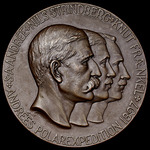 Sweden: Commemorative Medal for the Discovery of the Bodies of Salomon Andrée, Nils Strindberg an...