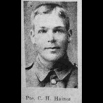 A Military Medal recipients Great War pair awarded to Serjeant C.H. Haines, Northamptonshire Regi...