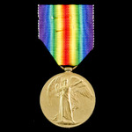 Battle of Arras Casualty Victory Medal awarded to Private C. Wix, West Yorkshire Regiment, later ...
