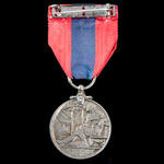 Imperial Service Medal, GVR Coinage bust, awarded to Francis Woodcock, who worked as a Messenger ...