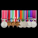 Military Policeman's New Years Honours 1953 British Empire Medal, Second World War Italy and Nort...