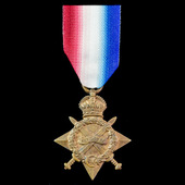 Great War 1914-1915 Star awarded to Private H.E. Rogers, 8th Battalion, Oxfordshire and Buckingha...