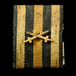 Germany - Imperial: Unusual large form single entitlement tunic ribbon bar for the Honour Cross 1...
