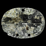 Germany - Third Reich: Original and complete Heer Grenadier man's zinc identity disc stamped up '...