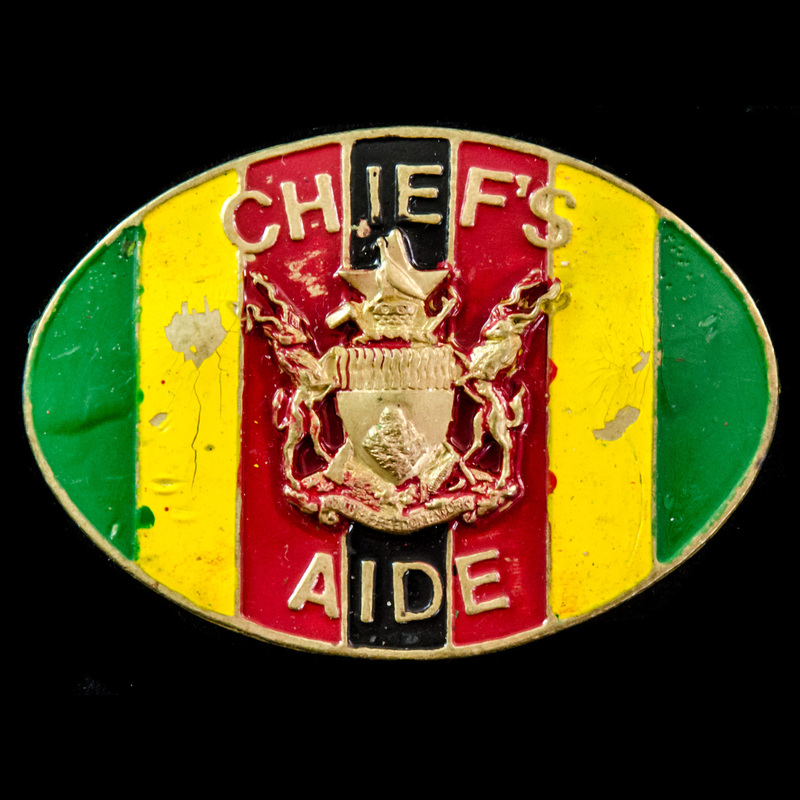 Zimbabwe Chief's Aide Badge 1. | London Medal Company