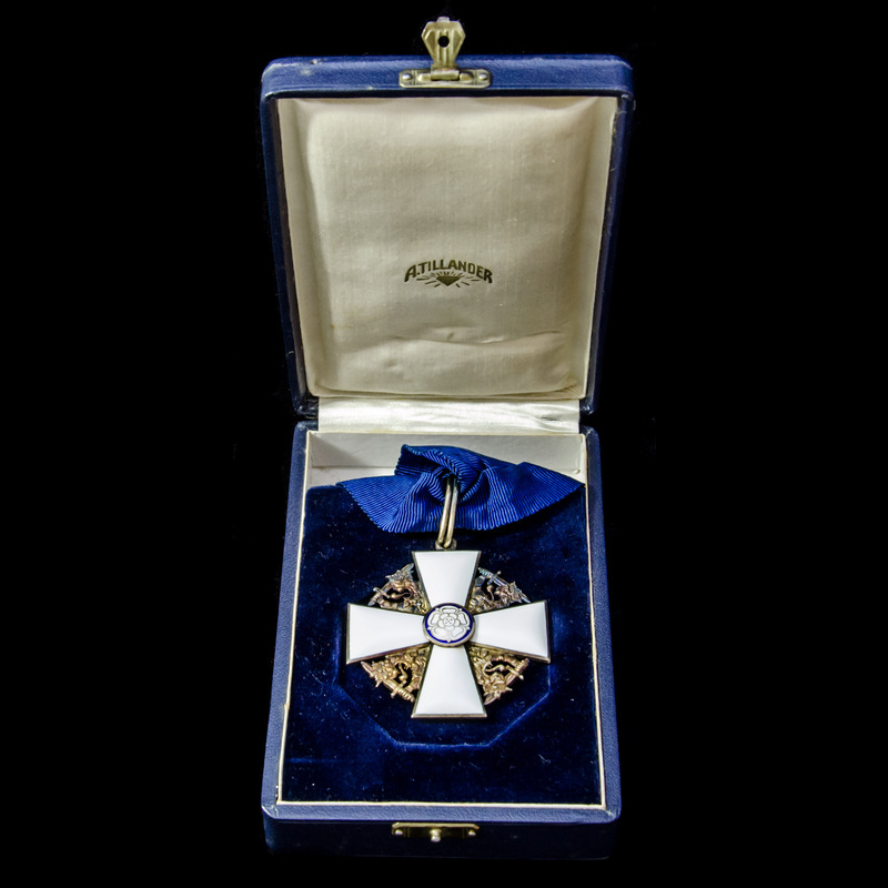 Finland: Order of the White R. | London Medal Company