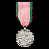 Turkish Crimea Medal 1855, Sardinian issue, engraved naming, awarded to Private Thomas Hawkins, 4...