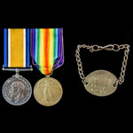 The classic Battle of Mount Sorrel 2nd June 1916 Canadian Prisoner of War pair awarded to Private...