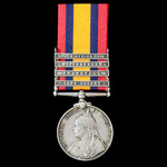 Queen's South Africa 1899-1902, 4 Clasps: Cape Colony, Transvaal, Wittebergen, South Africa 1901,...