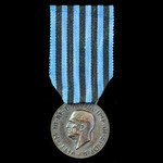 Italy - Kingdom of: Commemorative Medal for Operations in East Africa 1935-1936, by the Regio Zec...