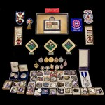 The important collection of over 80 shooting awards won by Mr H. Sheppard-Dewar, the Bisley Natio...