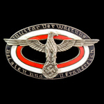 Germany - Third Reich: German Civilian Military Official Badge for the Military Administration in...
