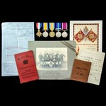 Great War 1914, Iraq Rebellion 1920, and long service group awarded to Trooper A. Lee, 1st King's...