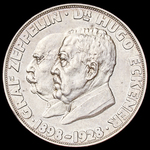 Germany - Weimar Republic: Commemorative Medal for the Round the World Flight of the Airship LZ 1...