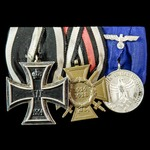 Germany - Imperial and Third Reich: Group of three awards to a First World War veteran and recipi...