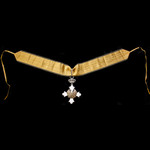 Greece: Royal Order of the Phoenix, Commander 3rd Class neck badge, silver-gilt and enamels, King...