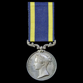 Punjab Medal 1848-1849, no clasp, awarded to Lieutenant Colonel H.J. White, 50th Regiment of Beng...