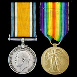 Great War Destroyer Operations pair awarded to Stoker 1st Class G. Taylor, Royal Navy, who was wi...