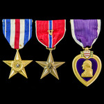 """The exceptional Korean War """"Indianhead"""" Division Operation Ripper 9th March 1951 Posthumous Silve..."""
