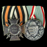 Germany – Imperial and Austro-Hungary pair of awards: Honour Cross 1914-1918 with Swords, reverse...