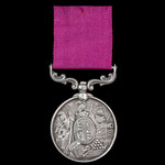 Army Long Service and Good Conduct Medal, Victoria small letter reverse, engraved naming, awarded...