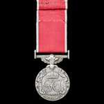 British Empire Medal, GVI 1st type bust, Civil Division, awarded to William J. Oswick, Inspector ...