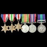 A fine Second World War Italy and North West Europe, and Malayan Emergency group awarded to Major...