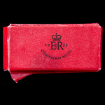 Coronation Medal 1953, mounted as issued on wearing pin, and housed in its original card box of i...