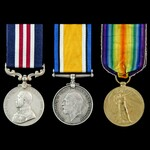 Great War Western Front Battle of Courtrai 14th to 20th October 1918 Military Medal group awarded...