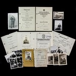 Germany – Third Reich: An excellent document and photograph group to 'Konigstiger' units member O...