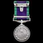 A scarce to unit Campaign Service Medal 1962, 1 Clasp; South Arabia awarded to Private A. Taylor,...