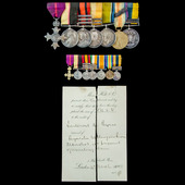 The very fine Great War Western Front Havre Base Depot Commander's Officer of the Order of the Br...