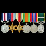 The very good Second World War North Africa Battle of Gazala Military Medal, Casualty and Prisone...