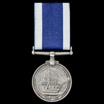 Royal Navy Long Service and Good Conduct Medal, GVI 1st type bust, awarded to Cook later Leading ...