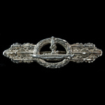Germany - Third Reich: Kriegsmarine U-Boat Combat Clasp, Silver Grade, plated zinc finish, this i...