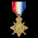 1914-1915 Star awarded to Private E.M. Wilson, Army Cyclists Corps, who was taken Prisoner of War...