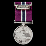 New Zealand Police Medal, a fine unnamed example, mounted as issued on wearing pin.