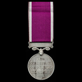 Regular Army Long Service and Good Conduct Medal, GVI 1st type bust, awarded to Private G. Griffi...