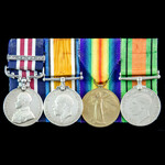 Great War Third Battle of Ypres 9th October 1917 Military Medal and Final Advance Action near Bai...