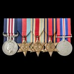 The fine Second World War Escaper's Military Medal group awarded to Gunner D. MacLennan, Royal Ar...