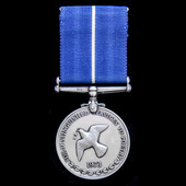 The International Who's Who in Poetry Medal for Distinguished Service in Poetry, as awarded to th...